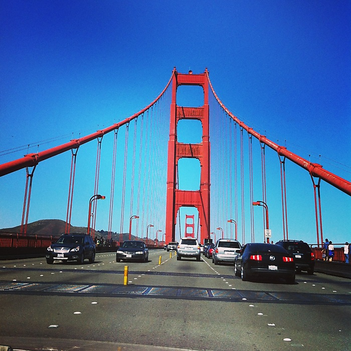 photoblog image The Golden Gate Bridge - Drive By