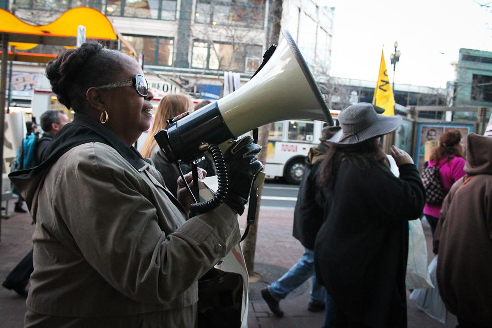 photoblog image TPP Protest in San Francisco
