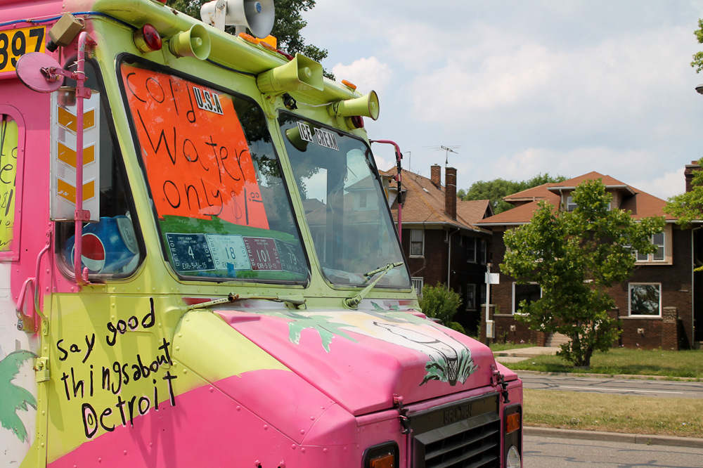 photoblog image Say Good Things About Detroit