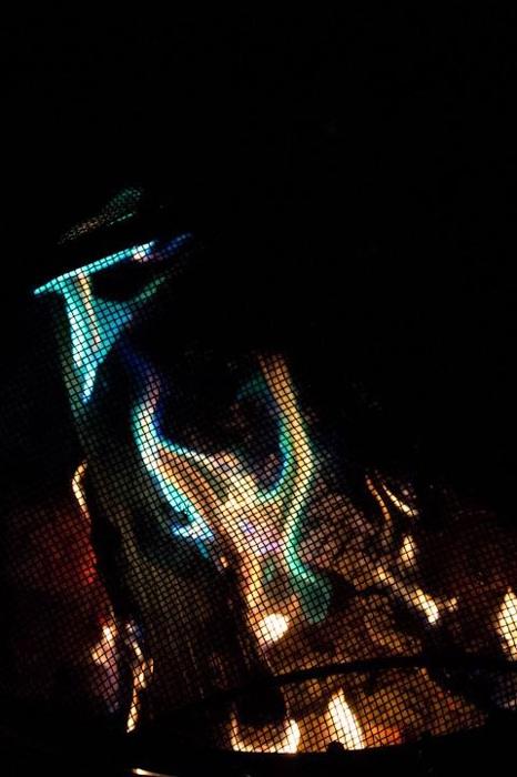 photoblog image Blue Flames