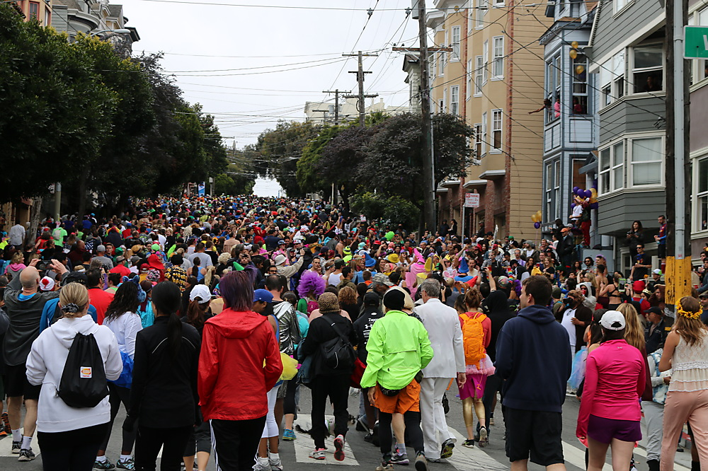 photoblog image Bay to Breakers