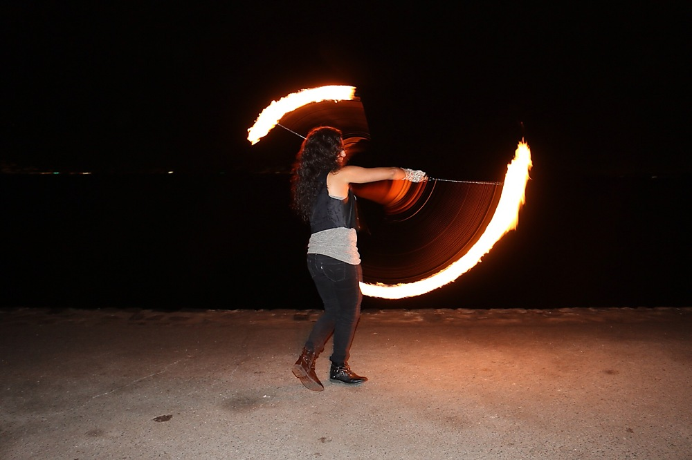 photoblog image Fire Spinning